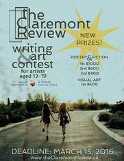 Writing and visual art contest