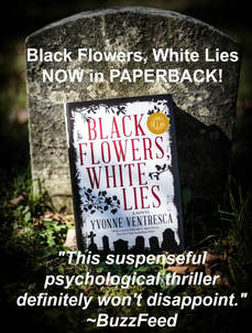 Black Flowers, White Lies now in paperback